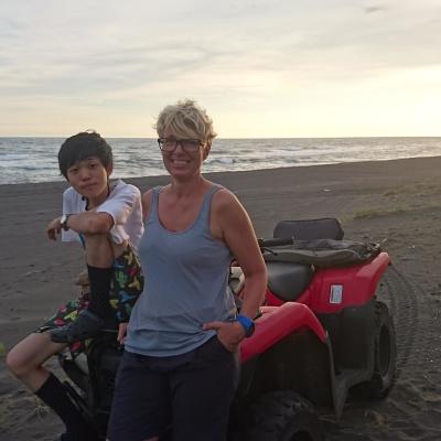 メキシコでウミガメ保護 竹村風力
